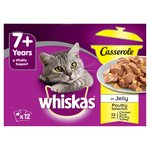 Whiskas Casserole 7+ Years Poultry Selection In Jelly