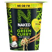 Naked Noodle Egg Noodles Thai Green Curry