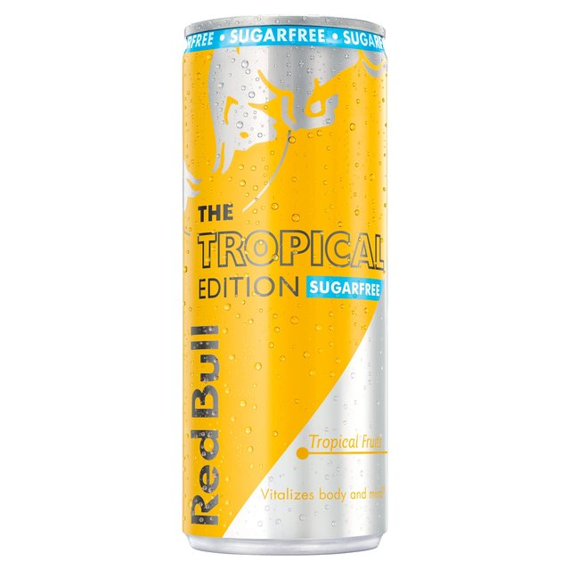 Red Bull Sugarfree The Tropical Edition