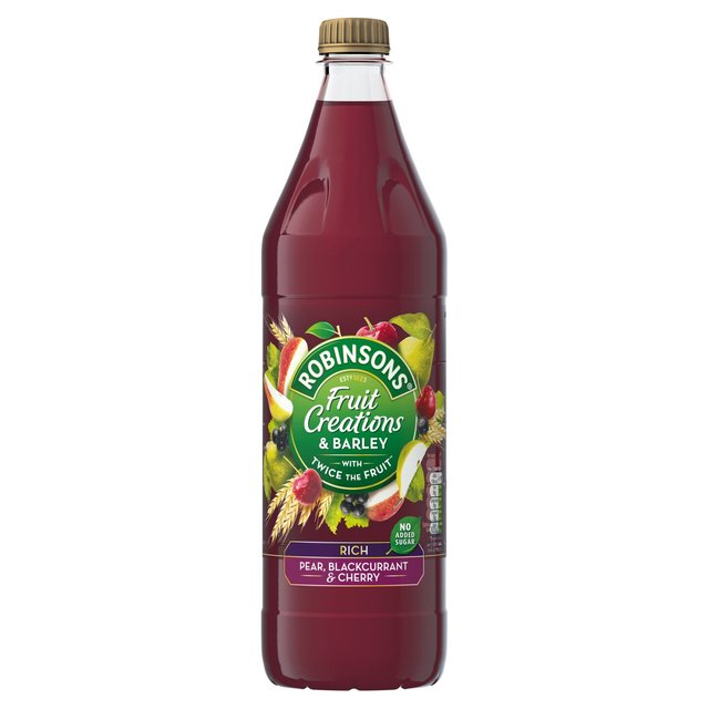 Robinsons Fruit Creations & Barley Rich Pear, Blackberry & Cherry