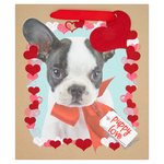 Morrisons Cute Dog Medium Gift Bag