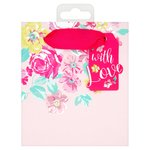 Morrisons Floral Small Gift Bag