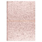 Morrisons Mother's Day Rose Gold Glitter Notebook