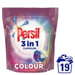 Persil 3in1 Colour Washing Capsules 19 Wash
