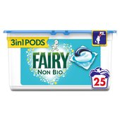 Fairy Non Bio Pods Washing Liquid Capsules 25 Washes
