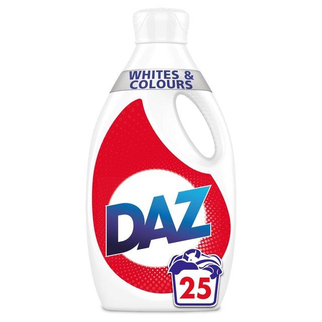 Daz Washing Liquid Whites & Colours 25 Washes