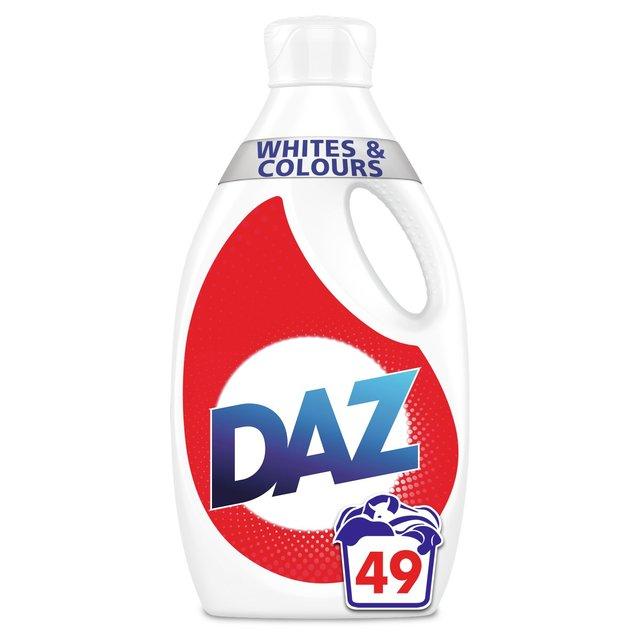 Daz Washing Liquid Whites & Colours 49 Washes