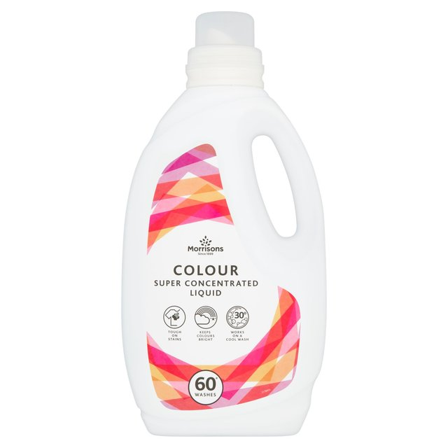 Morrisons Colour Super Concentrated Liquid 60 Washes
