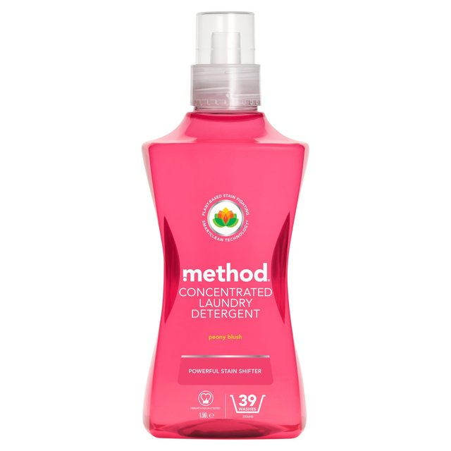 Method Concentrated Laundry Detergent Peony Blush 39 Washes