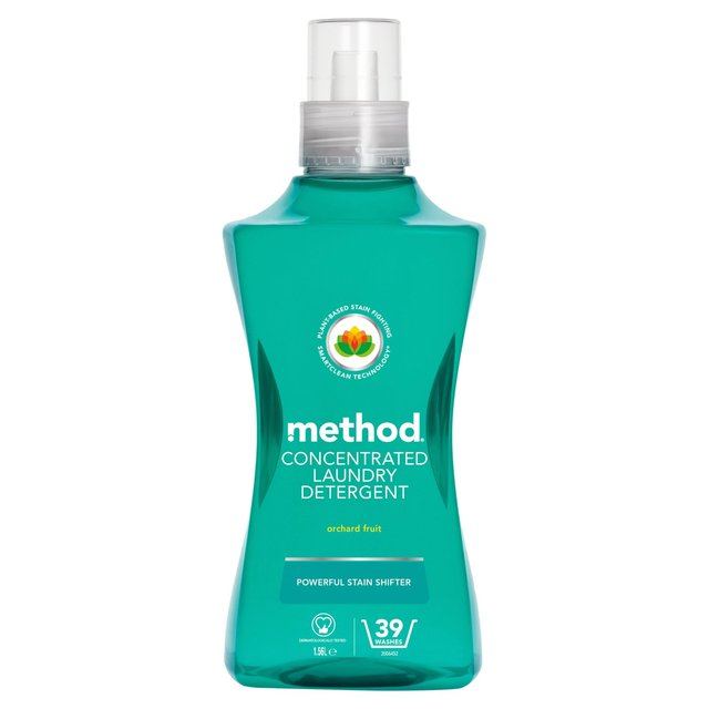 Method Concentrated Laundry Detergent Orchard Fruit 39 Washes