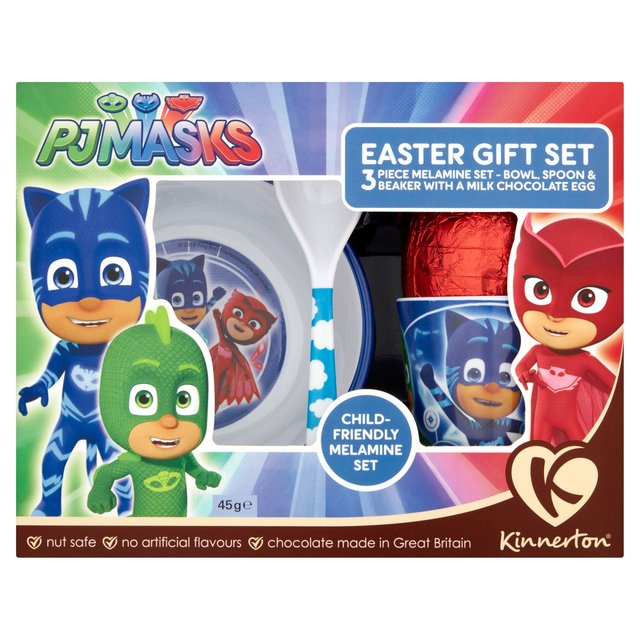 Morrisons kinnerton pj masks easter gift set 45gproduct information kinnerton pj masks easter gift set negle