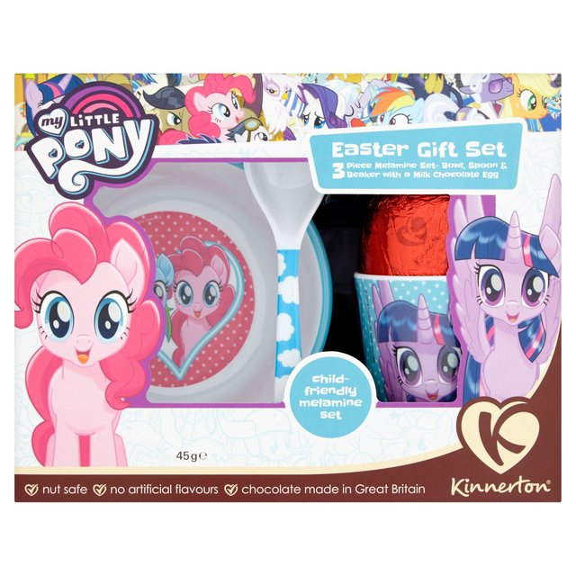 Morrisons kinnerton my little pony easter gift set 45gproduct kinnerton my little pony easter gift set negle Image collections