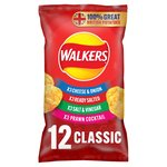 Walkers Classic Variety Crisps