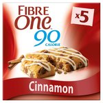 Fibre One 90 Calorie Cinnamon Bars 5x24g