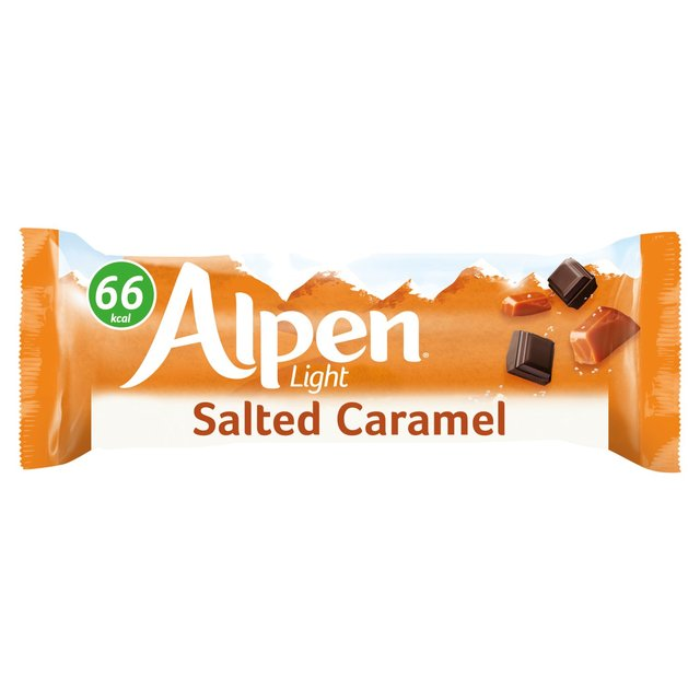 Morrisons alpen light salted caramel bar 19gproduct information alpen light salted caramel bar aloadofball