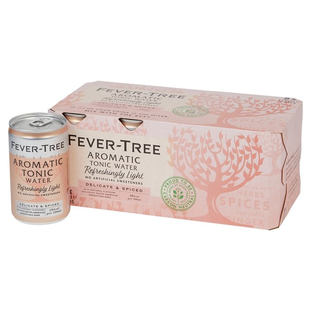 Fever-Tree Refreshingly Light Aromatic Tonic Water