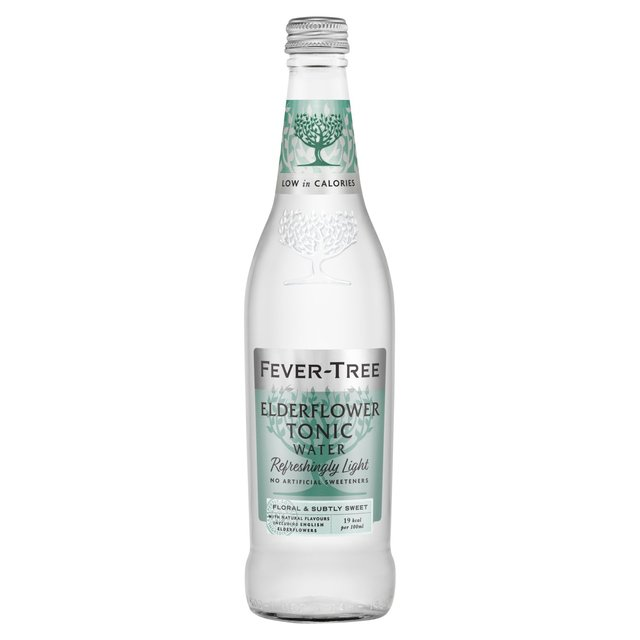 Fever-Tree Refreshingly Light Elderflower Tonic Water