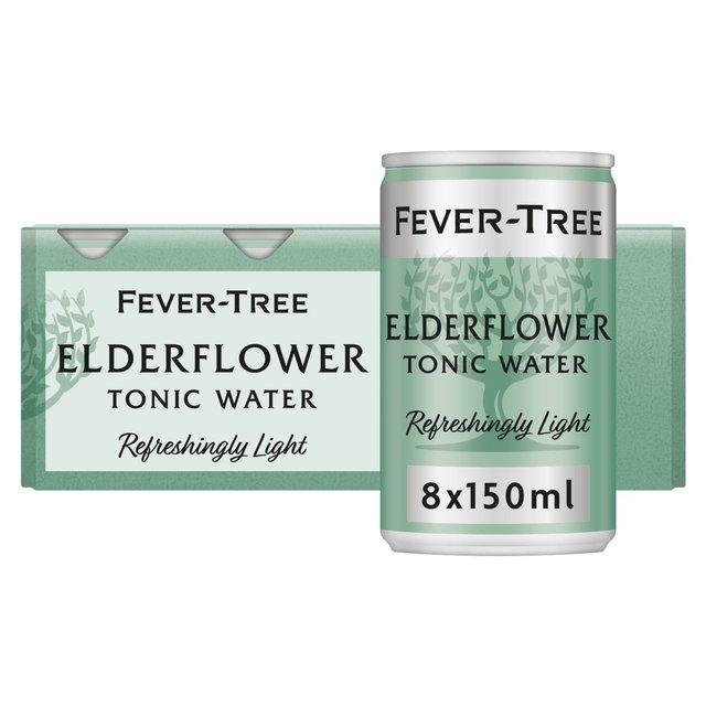 Fever-Tree Refreshingly Light Elderflower Tonic Water