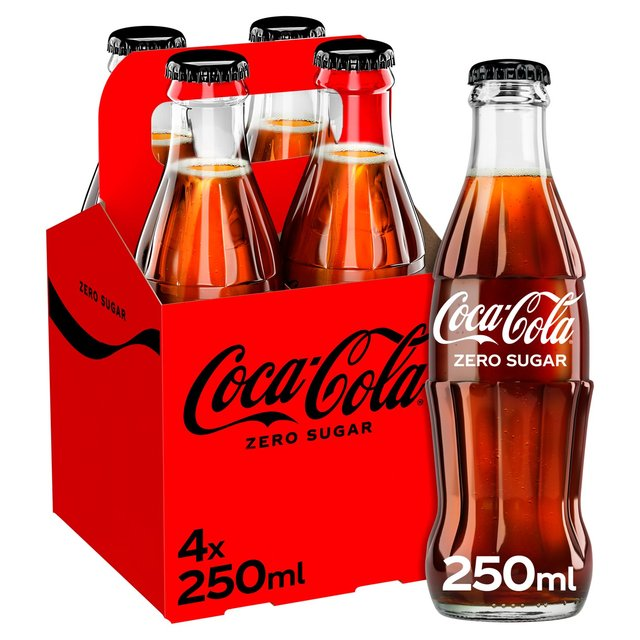 Coca - Cola Zero Sugar (Glass Bottles)