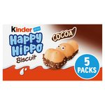 Kinder Happy Hippo Cocoa Cream Biscuits