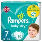 Pampers Baby-Dry 7 Xx Large 28 Nappies