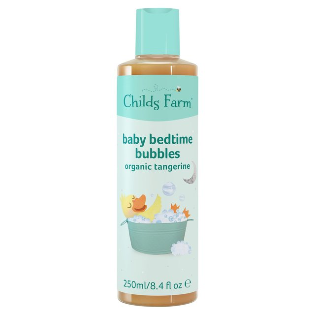 Childs Farm Baby Bedtime Bubbles Organic Tangerine