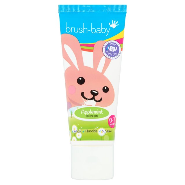 Brush-Baby Applemint Toothpaste 0-3 Years 50Ml