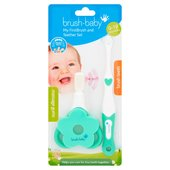 Brush-Baby My First Brush And Teether Set 0-18 Months