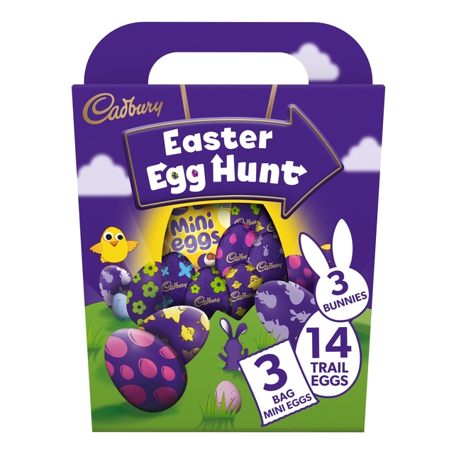 Cadbury Chocolate Easter Trail Eggs Large Pack