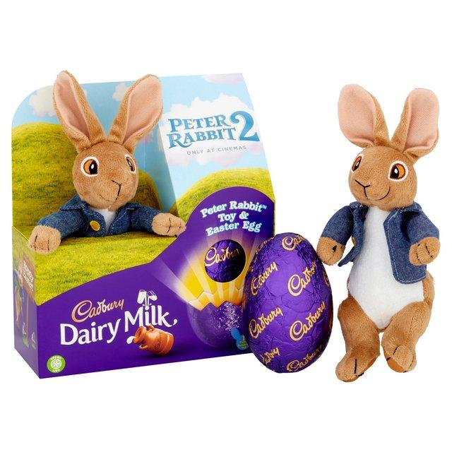 Morrisons cadbury dairy milk peter rabbit toy easter egg product cadbury dairy milk peter rabbit toy easter egg negle Gallery