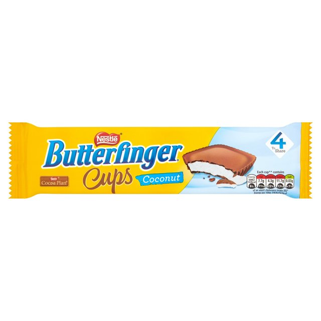 Nestle Butterfinger Cups Coconut 4 To Share 86g