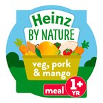 Heinz Veggies Pork & Mango 1-3 Years