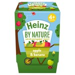 Heinz Apple & Banana Fruit Pot 4-36 Months