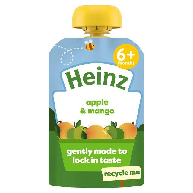 Morrisons Heinz Apple Mango Puree 4 36 Months 100g