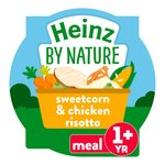 Heinz Chicken & Sweetcorn Risotto 1-3 Years