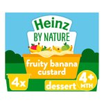 Heinz Fruity Banana Custard 4-36 Months