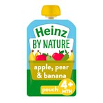Heinz Apple Pear & Banana Puree 4-36 Months