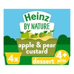Heinz Fruity Apple & Pear Custard 4-36 Months