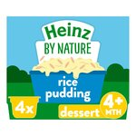Heinz Creamy Rice Pudding 4-36 Months