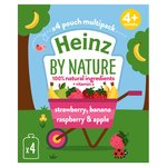 Heinz Strawberry Raspberry & Banana Puree 4-36 Months
