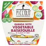 Piccolo Quinoa With Vegetable Ratatouille
