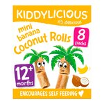 Kiddylicious Banana Mini Coconut Rolls