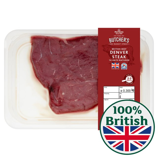 Morrisons Market St Beef Denver Steak