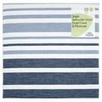 Morrisons Indigo Stripe Seersucker Single Bed Set