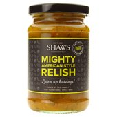 Shaws Mighty American Style Relish