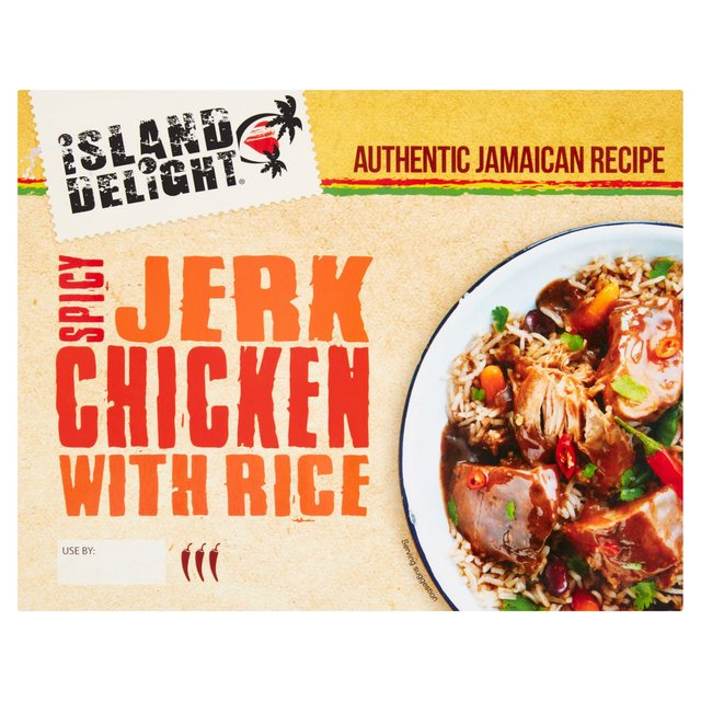 Island Delight Spicy Jerk Chicken With Rice