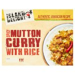 Island Delight Mutton Curry With Rice