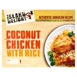 Island Delight Coconut Chicken Curry With Rice
