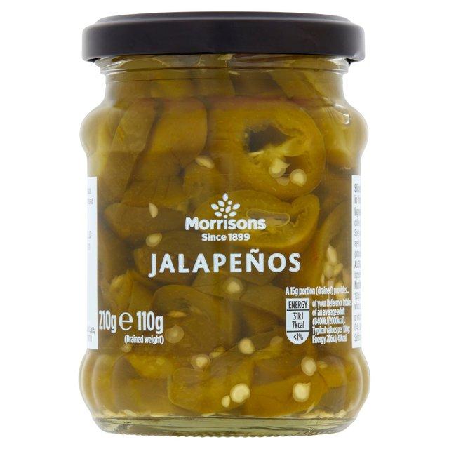 Morrisons: Morrisons Sliced Jalapenos 210g(Product Information)