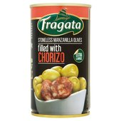 Fragata Stoneless Manzanilla Olives Filled With Chorizo (350g)